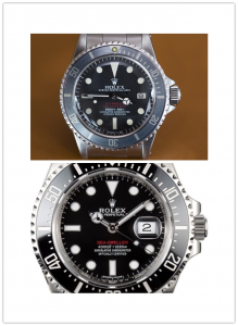 The four characteristics of the replica Rolex Sea Dweller watches