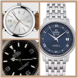 Three Small Diameter Men's Replica Watches Recommended