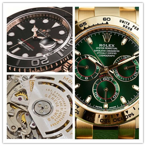 Love for luxury Rolex replica watches