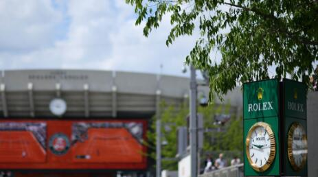 Rolex becomes Roland-Garros's chief partner